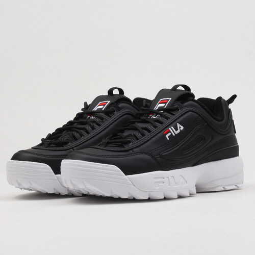 Fila Disruptor Low black - Glami.cz d97dac2827