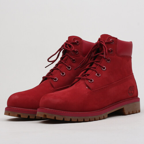 Timberland 6 Inch Premium WP Boot red - Glami.cz 9d634adf3e