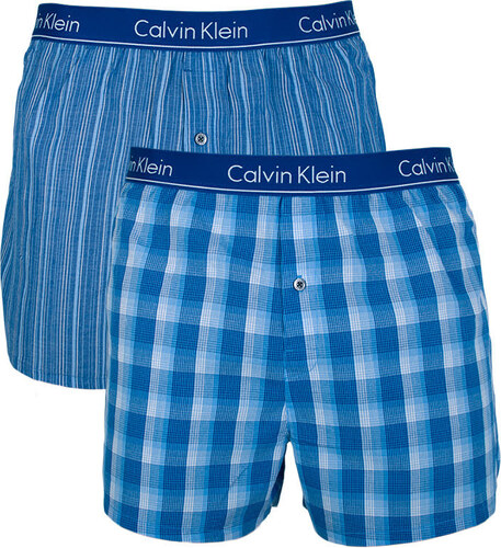 2PACK pánské trenky Calvin Klein slim fit vícebarevné (NU1544A-LGW ... 187b250e973