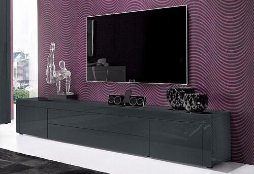 TV Lowboard, Breite 200 cm
