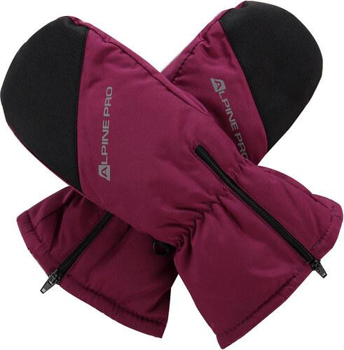 Dětké rukavice Alpine Pro HANGO - tmavě fialová - Glami.cz 06f24aa94e