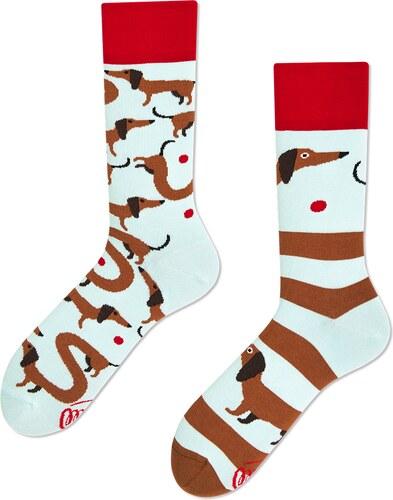 Ponožky MANY MORNINGS regular 1 PÁR SAUSAGE DOG - Glami.cz 6ed03dd047