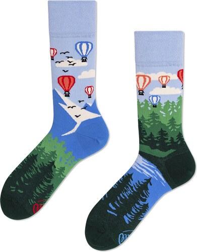 Ponožky MANY MORNINGS regular 1 PÁR ADVENTURE BALLOON - Glami.cz 2c60ca53e2