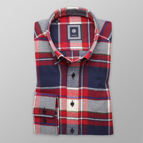 bffefc5bbe0 Willsoor Košile Slim Fit s kostkovaným vzorem (výška 176-182 a 188 ...