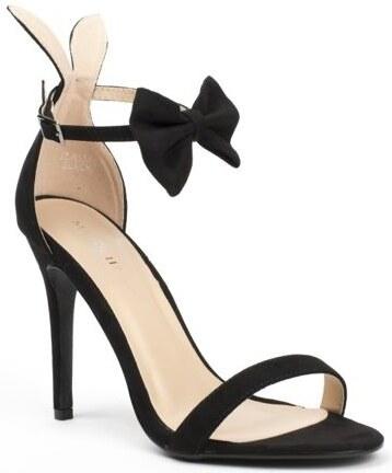 Ideal Shoes Páskové lodičky Miss Rabbit c2f916ade6