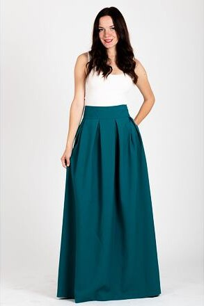 3420db04183 GUNTINA Maxi sukně Kopřiva