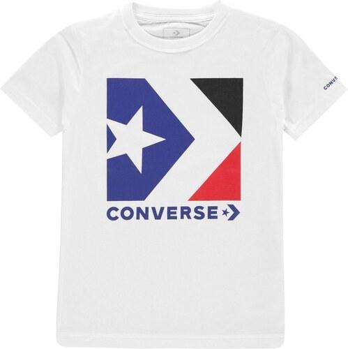 952163e567d Tričko Converse Chevron Box T Shirt - Glami.cz