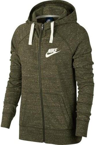 NIKE - mikina Nike Sportswear Gym Vintage olive green Velikost  M ... 77dddb5038c