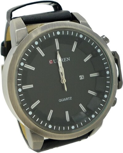 dbeda9367 Pánské hodinky Curren Simply černé 352P - Glami.cz