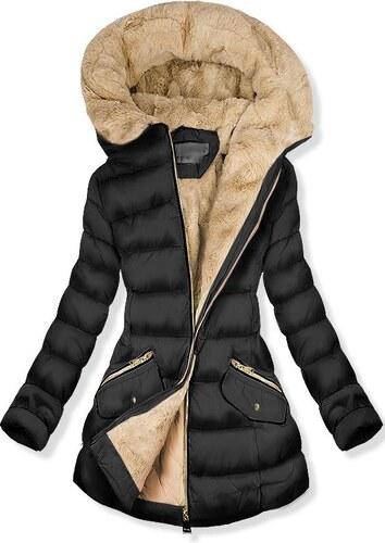 Butikmoda Fekete színű steppelt kabát f4316b82a2