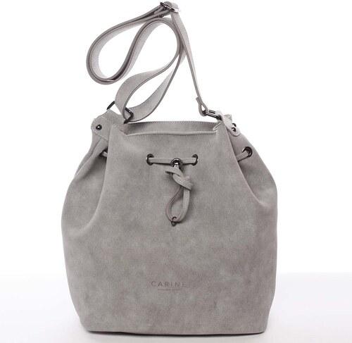 Módní dámská crossbody kabelka šedá - Carine Sherlyn šedá - Glami.cz d1fd2d4bf97