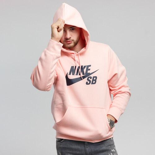c79e08d155 Nike M NK SB Icon Hoodie PO Essential růžová - Glami.cz