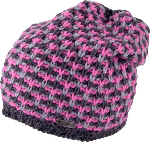 Dámská zimní čepice CAPU 380 růžová - Glami.cz b833c80365