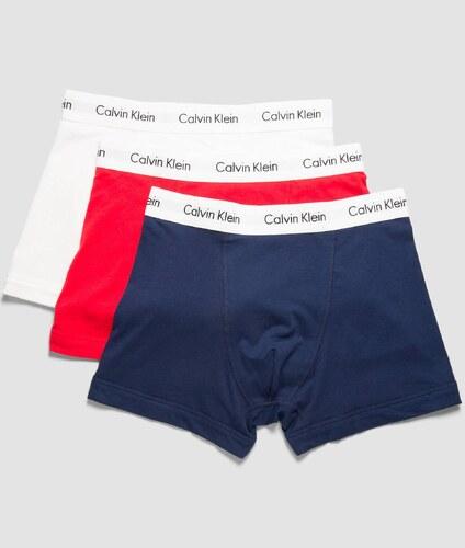 ded6586c4f Calvin Klein barevné boxerky 3 Pack Low Rise Trunks - S - Glami.cz