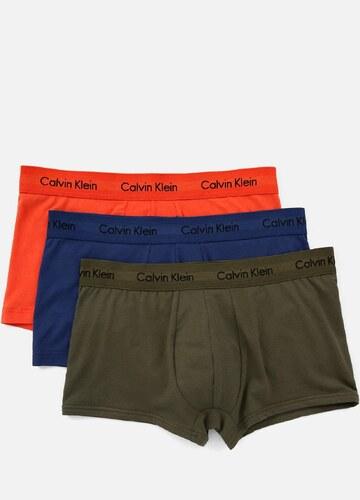b0ca14aaf -5% Calvin Klein 3 pack farebných pánskych boxeriek Cotton Stretch
