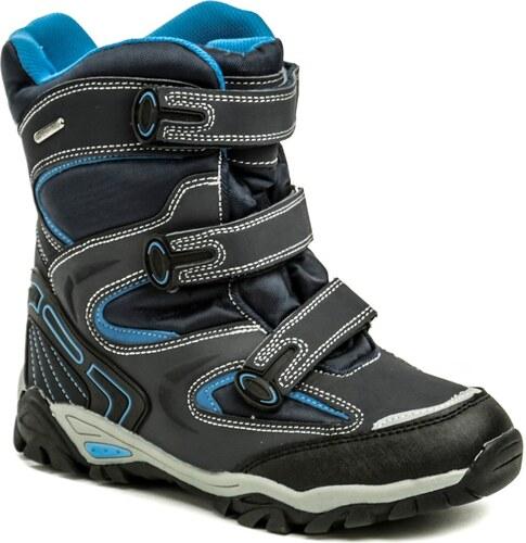 e37aac2df6c Peddy P1-231-37-05 modrá dětská zimní obuv - Glami.cz
