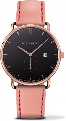 Hodinky Paul Hewitt Grand Atlantic rosegold black aurora - Glami.cz 86837da23f0