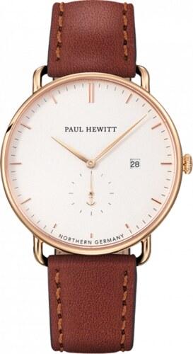 Zlaté Hodinky Paul Hewitt Grand Atlantic White Brown - Glami.cz 90111beb5bb