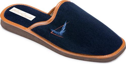 70c5d10ef37b4 Pánske papuče Natural Style NS 057 Modra 43 - Glami.sk