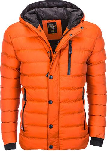 Ombre Clothing férfi dzseki Asgard narancssárga S - Glami.hu 4a716044cb