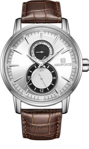 Naviforce Pánske analógové hodinky Vertigo hnedé - Glami.sk 374ad1aaf27