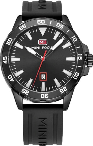 Mini Focus Pánske hodinky s velkým ciferníkom Borrow čierne - Glami.sk 54ed7671797