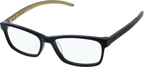 Zapana Drevené číre nedioptrické okuliare Bow číre sklá - Glami.sk 1e814a3d94c