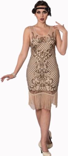 078728abd7c BANNED Dámské šaty Great Gatsby Diamond - Glami.cz