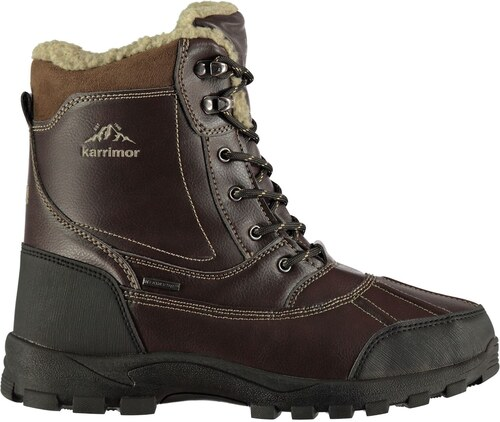 Karrimor Casual Mens Snow Boots Brown - Glami.cz d75f502b50