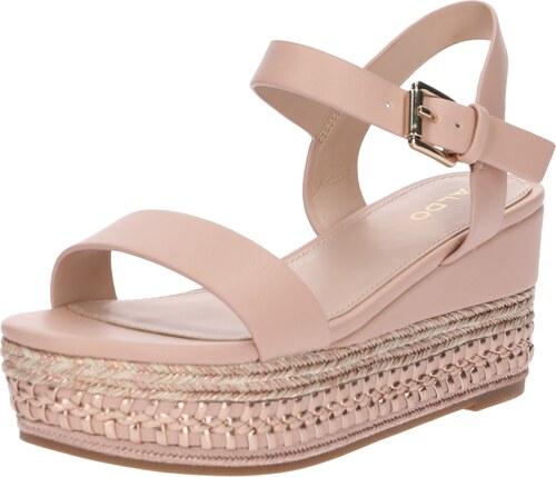 a84df6dc520c ALDO Páskové sandály  MAUMA  růžová - Glami.cz