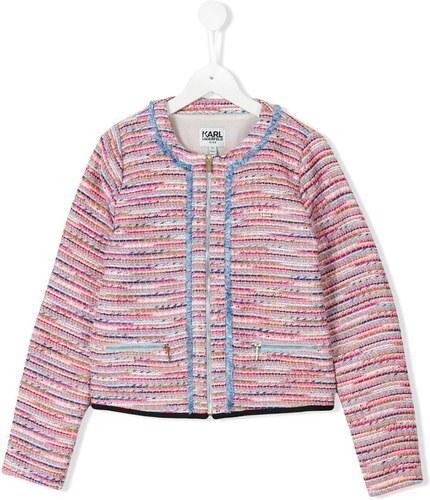 3479de855ad0 Karl Lagerfeld Kids tweed jacket - Pink - Glami.ro