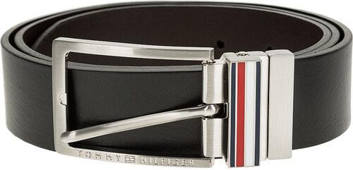 Tommy Hilfiger čierny kožený pánsky opasok Corp Keeper Belt 3.5 ... f6562580f70