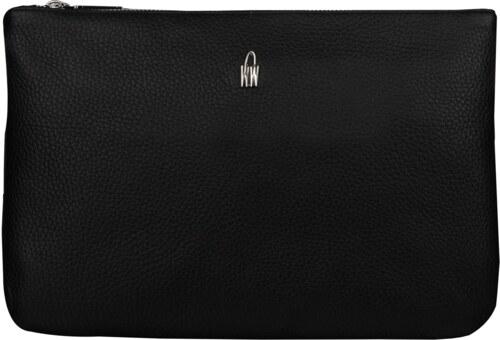 WOJEWODZIC Kvalitné stredné luxusné kožené kabelky crossbody do ruky čierne  31510 GS01 70e896e7ef4