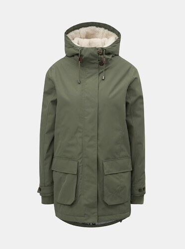 f3d5508bf3bd8 Zelená dámska zimná bunda Nugget Hita - Glami.sk