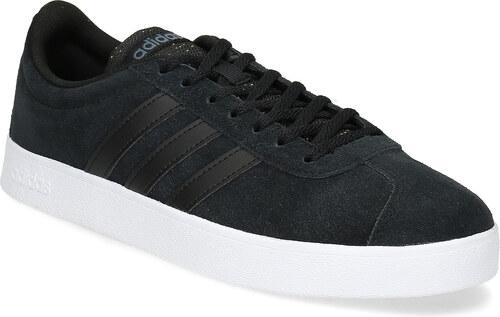 Adidas Čierne pánske kožené tenisky - Glami.sk 4138d99e45