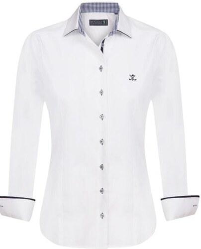 2b96b1ffc0fd Sir Raymond Tailor dámská košile M bílá - Glami.cz