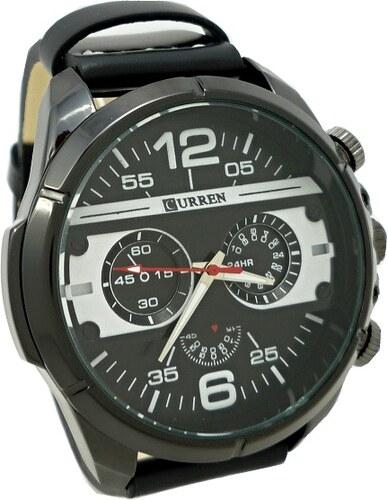 Pánské hodinky Curren extravagans černé 371P - Glami.cz 41a2e9bc66