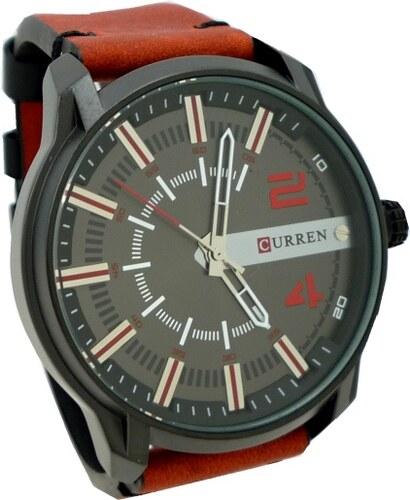 Pánské hodinky Curren Direct červené - Glami.cz 14379b2463