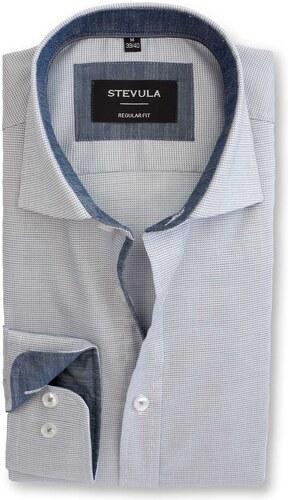 3f778bb60090 -30% STEVULA Svetlá vzorovaná košeľa s úpravou Non-iron