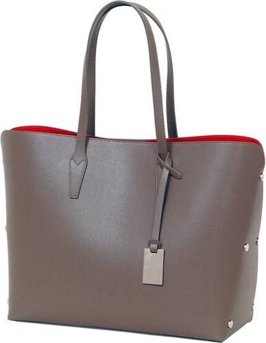 Béžová kabelka z pravej kože Andrea Cardone Dettalgio S - Glami.sk 140312f6027