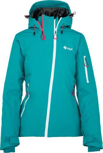 4c64f5b791a2 KILPI Dámska lyžiarska bunda ASIMETRIX-W JL0917KITRQ Tyrkysová 34 ...