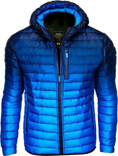 Ombre Clothing Férfi steppelt dzseki Avalanche sötétkék - Glami.hu 8b6e7c50b4