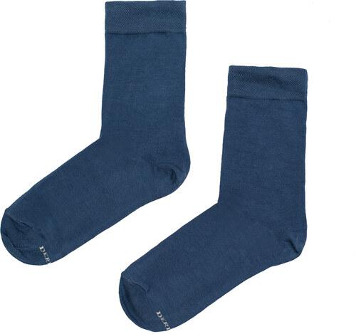 677b3b03ec4 Derby Pánské jednobarevné ponožky Simple modré - Glami.cz