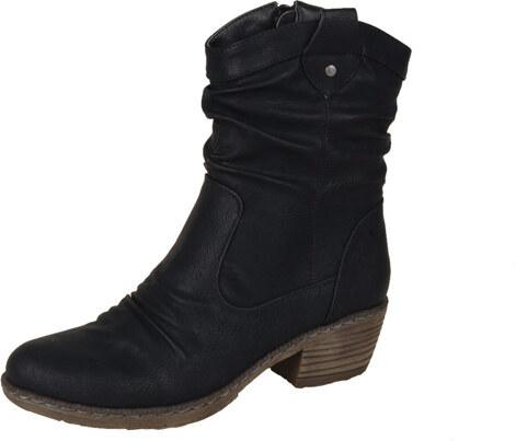 Rieker Dámska obuv členková (kotníková) zateplená na nízkom podpätku ... 5f01c1e4d24