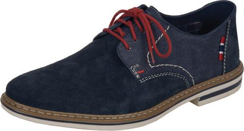 ae0de5235e70 Modré semišové topánky Rieker - Glami.sk