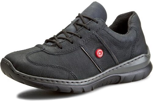 aea5c752f77a4 Šedé kožené športové topánky Rieker - Glami.sk