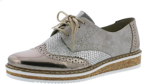 Dámska šnurovacia obuv značky Rieker - Glami.sk 62d371c4702