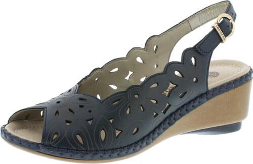 bedca42c72 modré dámske sandále na platforme Remonte-Rieker - Glami.sk