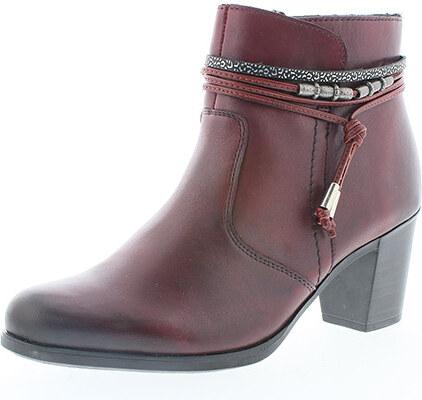 Dámska obuv členkova (kotníková) zateplená na vysokom podpätku značky Rieker 1ba1cbeab31