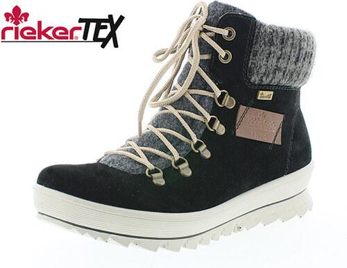 Dámska šnurovacia obuv zateplená značky Rieker - Glami.sk 98cfa15f9c0